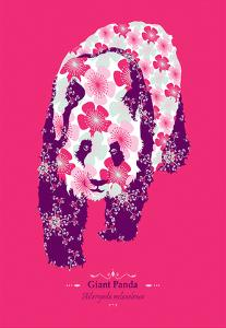 Giant Panda - WWF Contemporary Animals and Wildlife Print by WWF