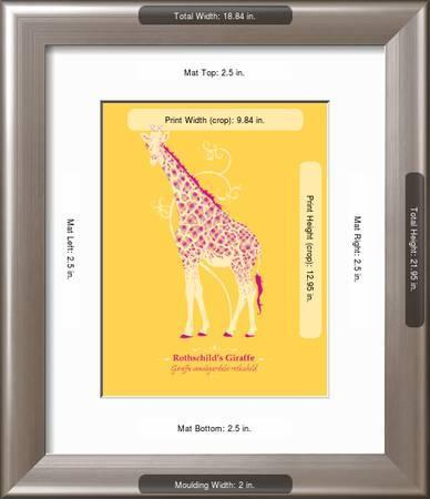wwf rothschild s giraffe animal tails u l f5sdgl2fgukj