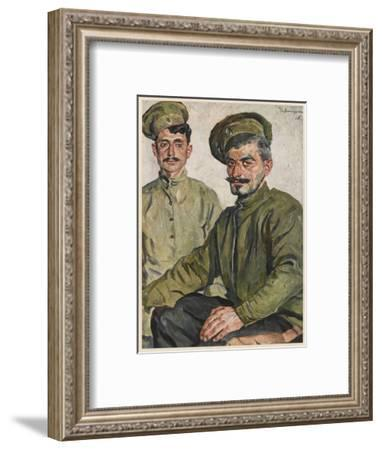 WWI Armenian Soldiers--Framed Giclee Print