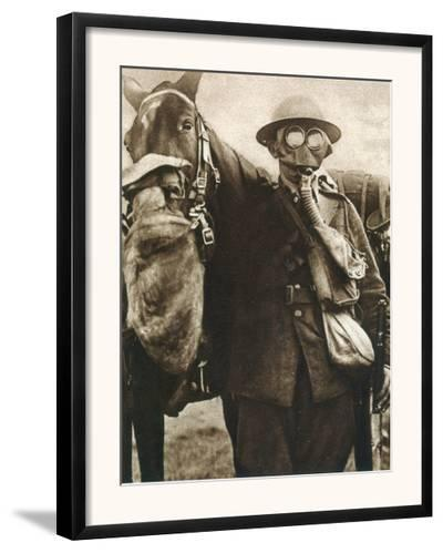 Wwi: Gas Warfare--Framed Photographic Print