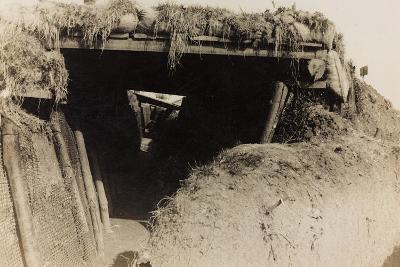 WWI: Trenches in Medea--Photographic Print