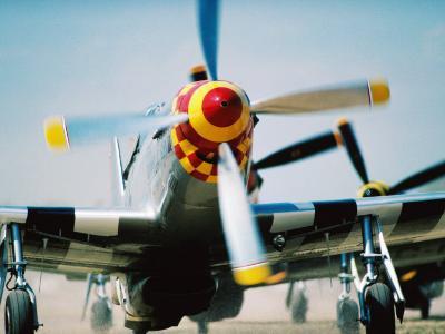 "WWII Aeroplane, ""War Birds"" Air Show, Oshkosh, U.S.A.-Lou Jones-Photographic Print"
