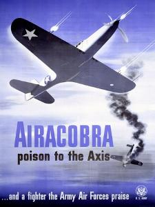 WWII Army Air Corps Airacobra P40