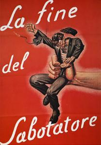 WWII: Italian Poster, 1944