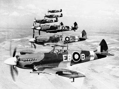 WWII Mark XII Spitfires 1944