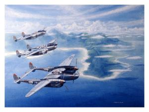 WWII, P38 Lightnings in the Pacific