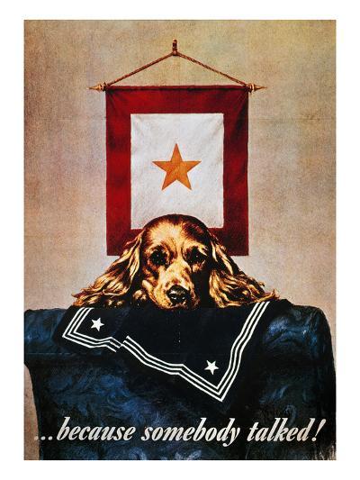 WWII: Propaganda Poster--Giclee Print