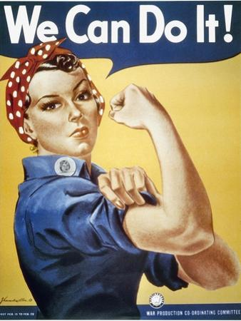 WWII: Rosie The Riveter