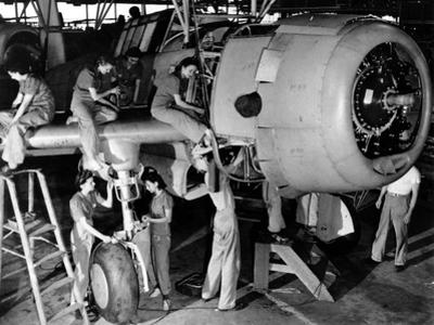 WWII Women War Effort
