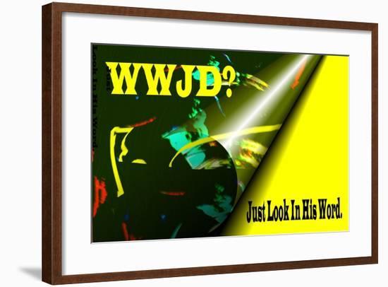 WWJD?-Ruth Palmer-Framed Art Print