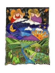 Big Diva Angels Quilting Our World by Wyanne