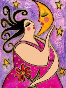 Big Diva Kissing the Moon by Wyanne