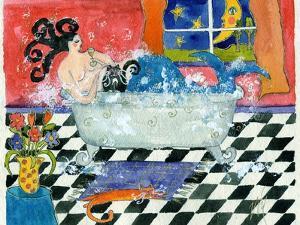 Big Diva Mermaid Bubble Bath by Wyanne