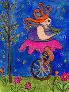 Big Diva Unicycle by Wyanne