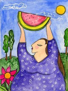 Big Diva with Watermelon by Wyanne