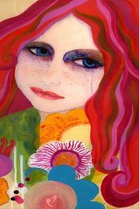 Big Eyed Girl Hesitant by Wyanne