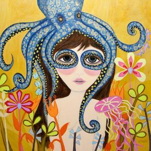 Big Eyed Girl She Can See Clearly Now by Wyanne