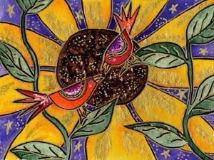 Birdies and Sunflower by Wyanne