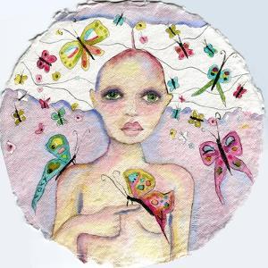 Butterfly Girl by Wyanne
