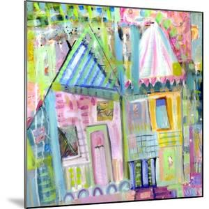 Downtown Houses by Wyanne