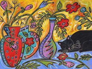 Flower Shop Catnap by Wyanne