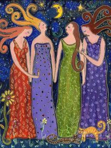 Four Big Diva Friends by Wyanne