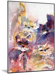 Four Kitties by Wyanne