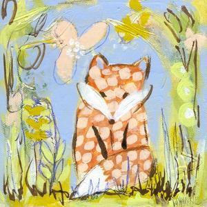 Fox in the Brambles by Wyanne
