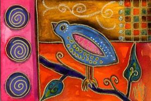 Funky Little Bird by Wyanne