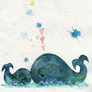 Love You Whales by Wyanne