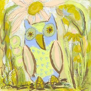 Owl in the Brambles by Wyanne