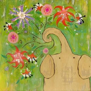 Sparkler Bouquet Elephant by Wyanne