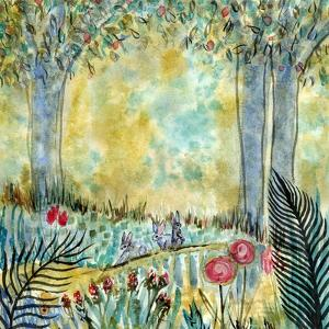 Three Rabbits by Wyanne