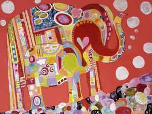 Two Elephants by Wyanne