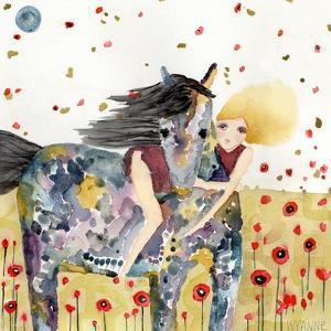 Wind in the Poppy Field by Wyanne