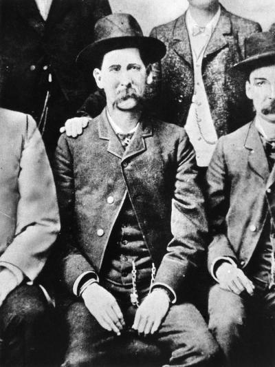 Wyatt Earp (1848-1929)--Giclee Print