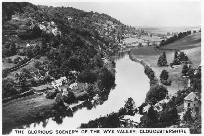 Wye Valley, Gloucestershire, 1936--Giclee Print