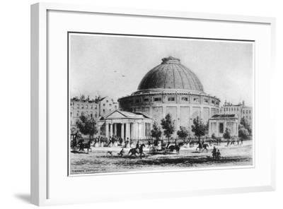 Wyld's Globe, Leicester Square, London, 1851-1862--Framed Giclee Print