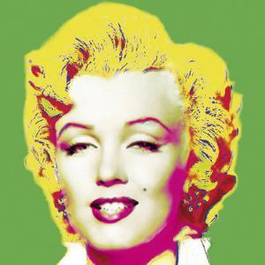 Marilyn in Green by Wyndham Boulter