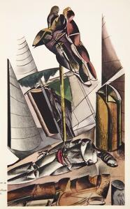 Illustration from the Enemy by Wyndham Lewis