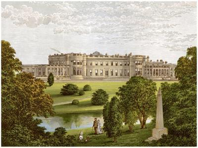 Wynyard Park, County Durham, Home of the Marquis of Londonderry, C1880-Benjamin Fawcett-Giclee Print