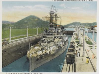 Wyoming Warship--Photographic Print
