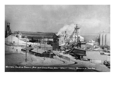 Wyoming - Westwaco Chlorine Production Mine near Green River-Lantern Press-Art Print