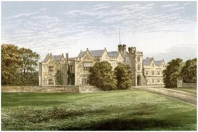 Wytham Abbey, Oxfordshire, Home of the Earl of Abingdon, C1880-AF Lydon-Giclee Print