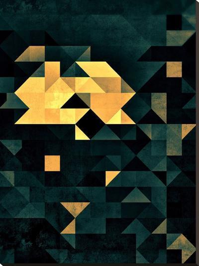 Wytyrfyre-Spires-Stretched Canvas Print