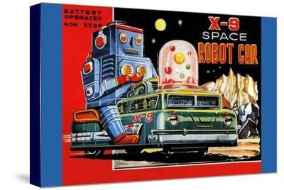 X-9 Space Robot Car