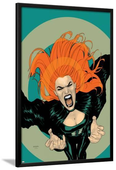 X-Factor No.5 Cover: Siryn-Ryan Sook-Lamina Framed Poster