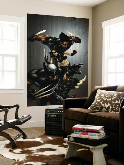 X-Force No.1 Cover: Wolverine, X-23, Wolfsbane and Warpath-Clayton Crain-Wall Mural