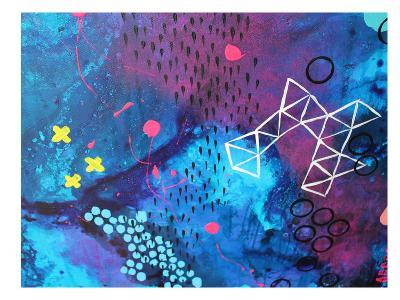X Marks the Spot-Deb McNaughton-Art Print
