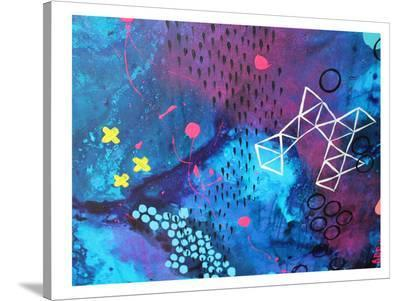 X Marks the Spot-Deb McNaughton-Stretched Canvas Print